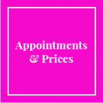 Appointments and Prices